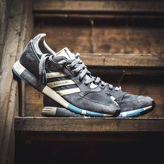 adidas Boston Super 84-Lab (grau) - 43einhalb Sneaker Store Fulda