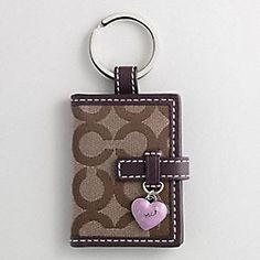 COACH |  Picture Frame Key Ring