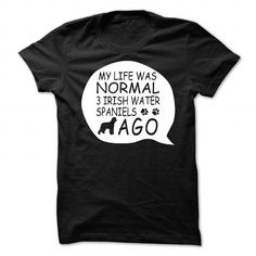 Irish Water Spaniel T Shirts, Hoodies. Get it now ==► https://www.sunfrog.com/Pets/Irish-Water-Spaniel-99812689-Guys.html?41382
