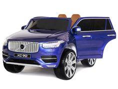 Hračky | Elektrická auta | elektrické autíčko Volvo XC 90 modré | Bábätkovo.eu Volvo Xc, Chicken, Car, Automobile, Vehicles, Cars, Cubs