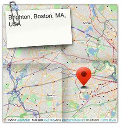 Brighton, Boston, MA, USA (courtesy of @Pinstamatic http://pinstamatic.com)