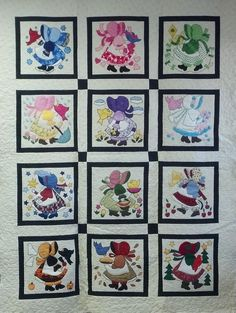 Beverly Landers' Sunbonnet Sue -- There's a block for each month.