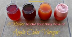 5 Recipes to Get Your Daily Dose of Apple Cider Vinegar - The Healthy Honeys