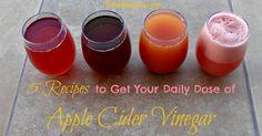 Tomar Recetas Para El vinagre de sidra de manzana