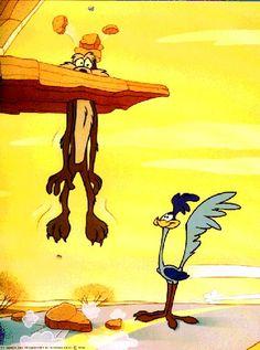 ¡Wile E Coyote y el Road Runner! Looney Tunes Characters, Classic Cartoon Characters, Looney Tunes Cartoons, Favorite Cartoon Character, Classic Cartoons, Cartoon Dog, Cartoon Shows, Casper Cartoon, Cartoon Ideas