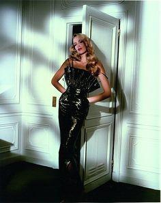 Jerry Hall - Antony Price Dress