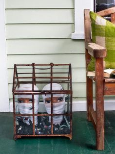 Mummified Mannequins - Spooky Front Porch Decorating Ideas for Halloween on HGTV