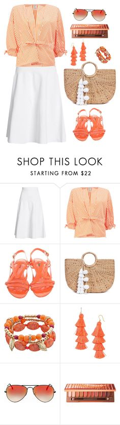 """""""Untitled #2038"""" by ebramos ❤ liked on Polyvore featuring Victoria Beckham, Maison Rabih Kayrouz, Louis Vuitton, JADE TRIBE, BaubleBar, Ray-Ban and Urban Decay"""
