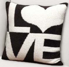 Giraffe at Home® Dolce™ LOVE Throw Pillow - Free Shipping