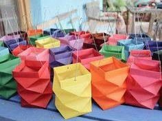 Origami Lamp Kids 34 Ideas For 2019 Origami Design, Diy For Kids, Crafts For Kids, Diy Paper, Paper Crafts, Paper Art, Diys, Diy And Crafts, Arts And Crafts