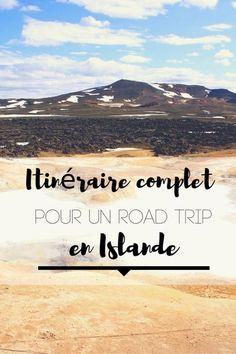 Itinéraire complet pour un road trip en Islande. Détail jour par jour pour découvrir le meilleur du pays pour un voyage épique sur la route 1!
