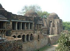 Hauz khass, begun 1352, Delhi, India