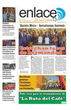 Edición 274; Enlace de la Costa  Edición número 274 del periódico Enlace de la Costa, editado y distribuido en la Costa de Oaxaca, con información de la región y sus municipios.