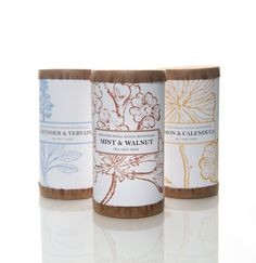 Energizing Sea Salts - Mint & Walnut Dead Sea Salts - scented with pure essential oils