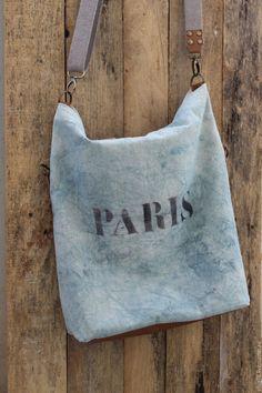 Купить Сумка STANLEY - голубой, однотонный, сумка, винтажная сумка, винтаж, винтажный стиль