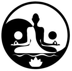 New tattoo flower mandala yin yang Ideas Arte Yin Yang, Ying Y Yang, Yin Yang Art, Yin And Yang, Art Buddha, Buddha Kunst, Buddha Painting, Yin Yang Tattoos, Mandala Design