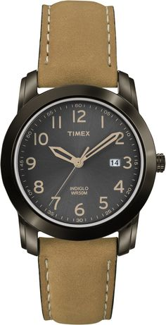 2511daf2f This Timex Gents Highland Street Watch T2P133 features a brown dial with  tan numbers and a