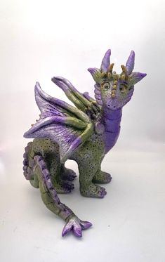Fantasy Creatures, Mythical Creatures, Polymer Clay Dragon, Magical Images, Dragon Figurines, Little Dragon, Doll Eyes, Fairy Dolls, Pixies