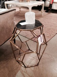 Fresh take on the popular geometric patterns by Emporium Home #HPMKT Finds We Love at Design Connection, Inc. | Kansas City Interior Design