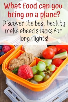 The Best Travel Snacks for Airplanes (that can make it past TSA!)