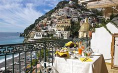 Positano Italy at Hotel Buca di Bacco