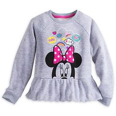 Minnie Mouse Clubhouse Fleece Top for Girls | Disney Store