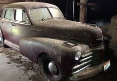 1948 Chevrolet Fleetmaster: Dusty Runner - http://barnfinds.com/1948-chevrolet-fleetmaster-dusty-runner/