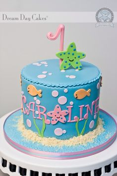 Under the sea cake! Simple!