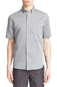 RAG & BONE 'Yokohama' Trim Fit Short Sleeve Woven Sport Shirt. #ragbone #cloth #
