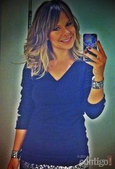 Fernanda Souza exibe novo corte de cabelo