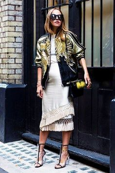 awesome Street Style : Street Style London Fashion Week Spring 2016 Day 1 - Image 5...