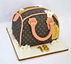 Lois Vuitton bag cake