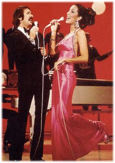 The Sonny and Cher show.