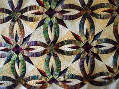 Judy Niemeyer's Bali Wedding Star.  Quilting is fabulous.