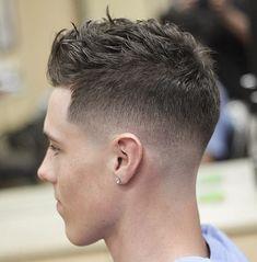 cabelo masculino curto 2018 bagunçado