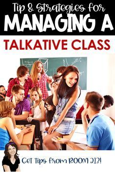 Talkative classes can be a classroom management challenge. Check out these management strategies fro : Talkative classes can be a classroom management challenge. Check out these management strategies from Room Teacher Hacks, Teacher Tools, Teacher Resources, Teacher Binder, Middle School Classroom, A Classroom, Future Classroom, Classroom Management Strategies, Behaviour Management
