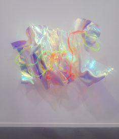 "thetuesdayafter: "" Berta Fischer at Barbara Weiss "" Abstract Sculpture, Sculpture Art, Crystal Bedroom, What Is Contemporary Art, Plastic Art, Glitch Art, Light Art, Plexus Products, Art And Architecture"