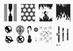 Hot Off The Stamping Press:  LojaBBF Nail Art Stamping Plates!
