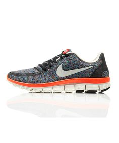 new arrivals 90ef1 1e8a0 Nike x Liberty Blue Virtual Light Liberty Print Free Run 5.0 Trainers    Trainers by Nike