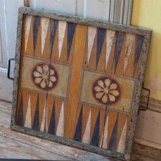 Beautiful Vintage Inspired Game Board $58.00 http://www.antiquefarmhouse.com/current-sale-events/under-tree.html