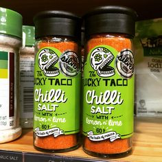 Award Winning Lucky Taco Chilli Salt.