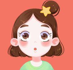 Illustration Story, Kawaii Illustration, Illustration Art Drawing, People Illustration, Character Illustration, Cartoon Drawings, Cute Drawings, Kid Character, Character Design