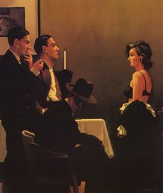 Jack Vettriano - We Can't Tell Right from Wrong