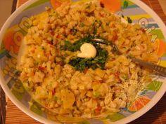 Cocina Costarricense: ceviche de guineos