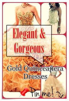 Gold Quinceanera dress- These stylist tips from social gatherings party planners will assist you to find the most perfect Gold Quinceanera dress in no time! Strapless Dress Formal, Formal Dresses, Different Dresses, Queen, Quinceanera Dresses, Timeless Beauty, Every Girl, Dress For You, Stylists