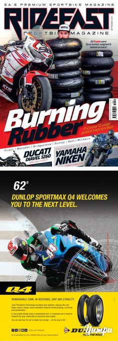 RideFast Magazine September 2019 - Magazine with 84 pages: SA's best motorcycle magazine Ducati Diavel, Yamaha R1, Street Bikes, New Set, Wet And Dry, Sport Bikes, Motogp, Burns, September
