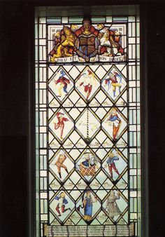 The 1510 Betley Window uses Morris Dance figures to tell the story of the Welsh GlynDŵr Rising, in which Rhys, Gwilym and Maredudd ap Tudur supported their cousin Owain GlynDŵr in his rebellion against King Henry IV, deposer of their patron, Richard II.  All 3 brothers were outlawed in 1406.  Maredudd's son Owen Tudor married Catherine of Valois and founded the Tudor Dynasty.