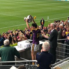 Put er up!!! Great win for the Wexford Minors.  1 down 1 to go.