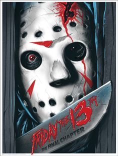 Mondo: The Archive | Ghoulish Gary Pullin - Friday the 13th: The Final Chapter, 2013