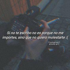 La imagen puede contener: texto Sad Quotes, Love Quotes, Inspirational Quotes, Words Can Hurt, Spanish Phrases, Tumblr Love, Im Sad, Fake Love, Sad Girl